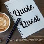 Quote quest  logo with link